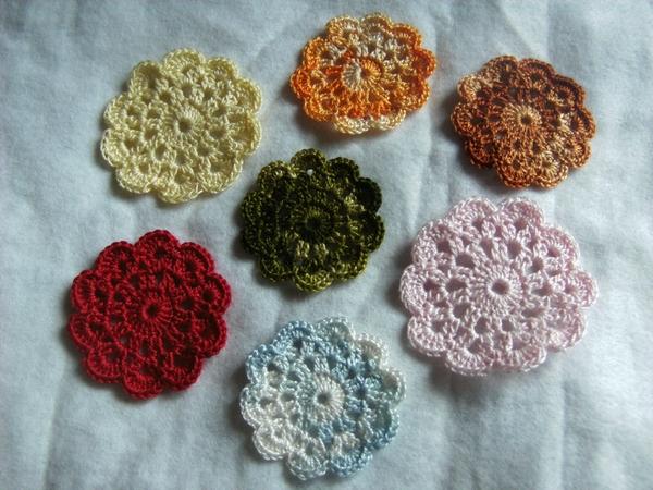 Crochet Fleur 1