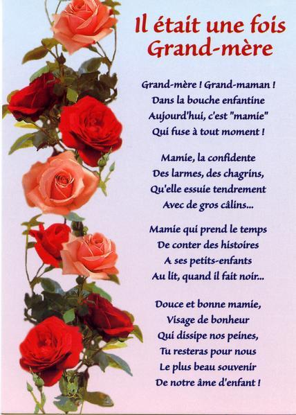 Citation Anniversaire Grand Mère Gosupsneek